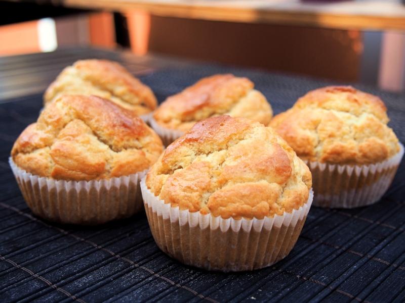Vehnä-kaura muffinsit