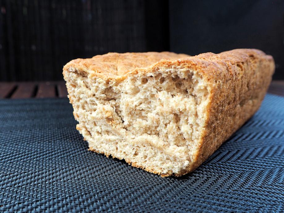 Vehnä-ruisvuokaleipä