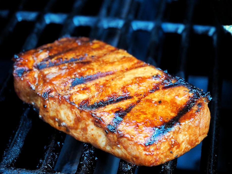 Porsaan grillifilee pihvit
